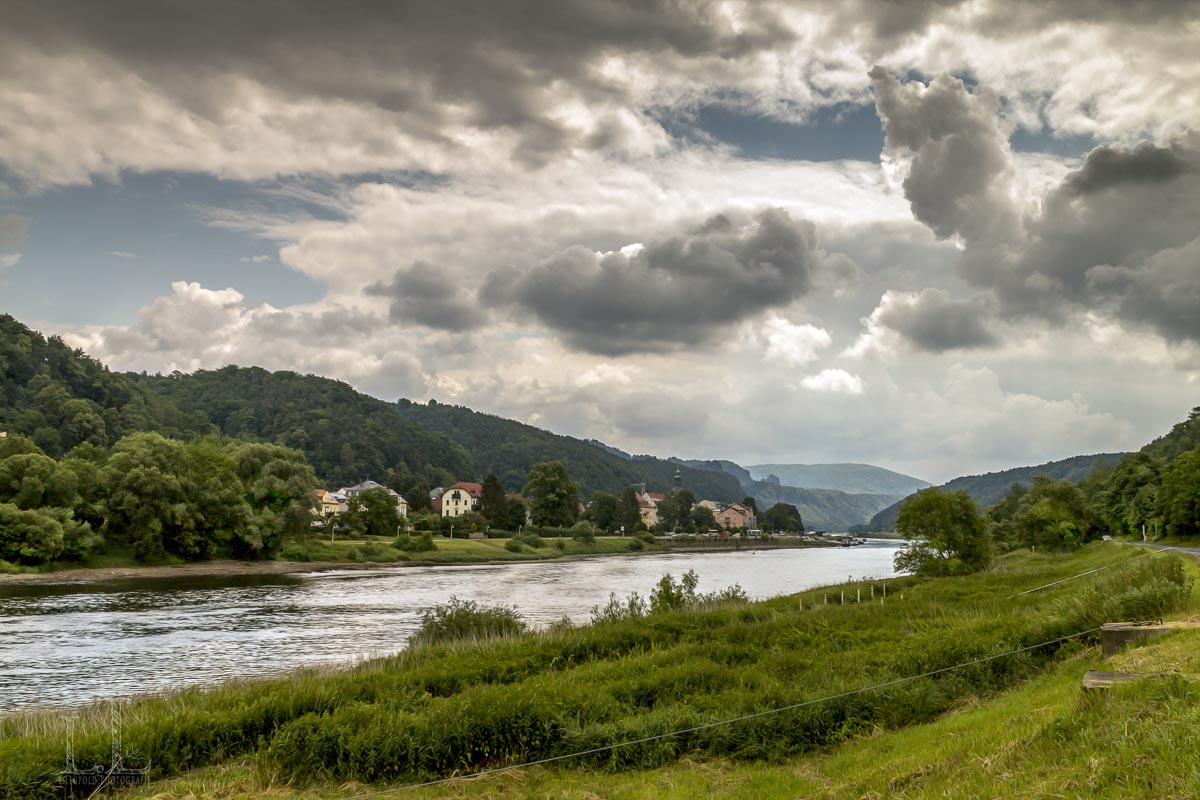 Bad Schandau an der Elbe